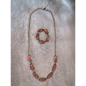 Kate Spade 'Get Rollin' link necklace & bracelet